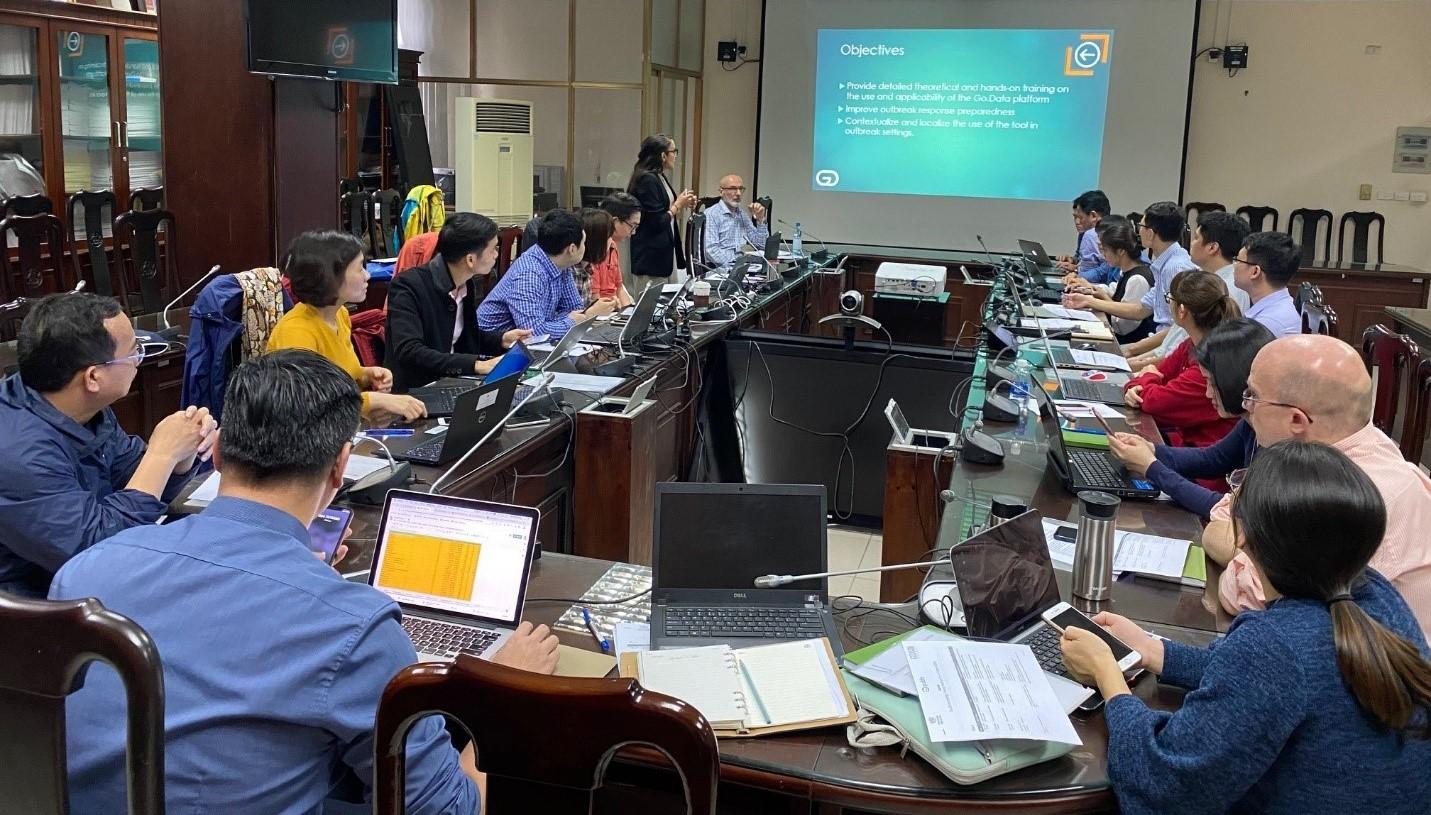 Việt Nam sử dụng công cụ điều tra vụ dịch của WHO cho COVID-19 và các bệnh truyền nhiễm khác