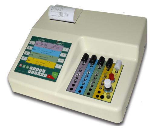 Máy đông máu bán tự động CC 4000